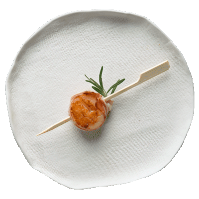 Wrapped Scallop